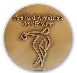 médaille personnalisée gravée