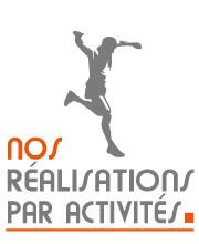 Réalisations agence de communication sport